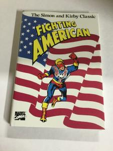 Fighting American Simon And Kirby Classic Nm Near Mint Marvel Hc Tpb