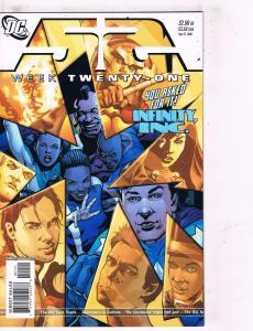 10 52 DC Comic Books Weeks # 21 22 23 24 25 26 27 28 29 30 Batman Superman J98