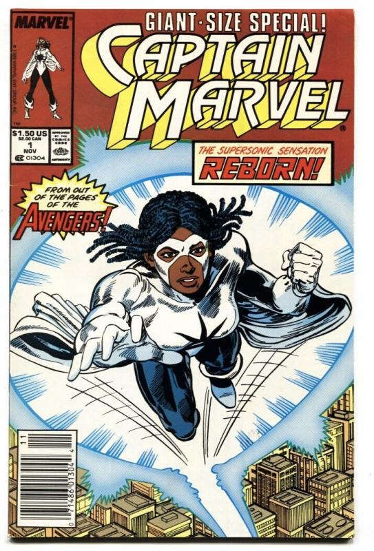 Captain Marvel #1 1989-1st issue-Marvel-comic book VF/NM