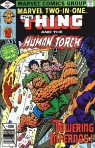 Marvel Two-In-One (1974 series) #59, VF- (Stock photo)
