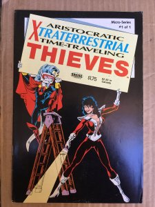 Aristocratic Xtraterrestrial Time-Travelling Thieves #4 (1987)