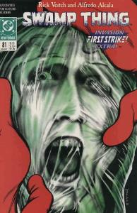 Swamp Thing (2nd Series) #81 FN; DC | save on shipping - details inside