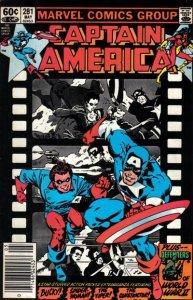 Captain America #281 stock photo ID#B-1