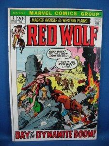 Red Wolf #2 (Jul 1972, Marvel) VF+