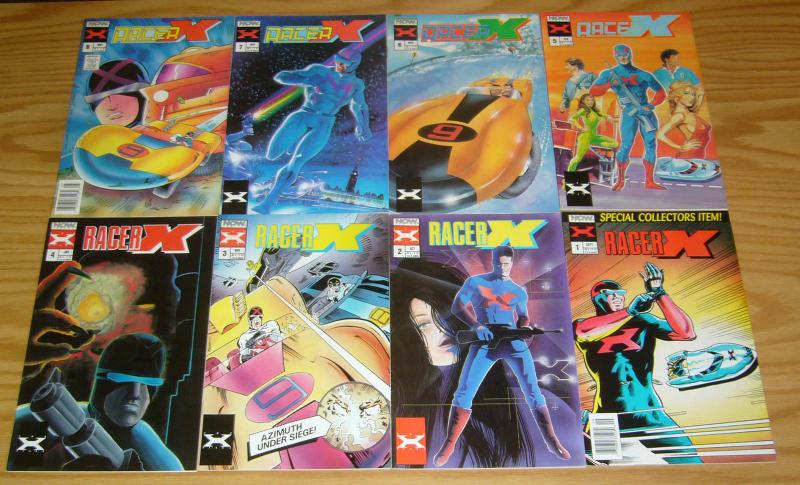 Racer X #1-11 VF/NM complete series + premiere SPEED RACER spinoff comics set