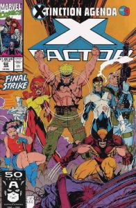 X-Factor #62 FN; Marvel   save on shipping - details inside