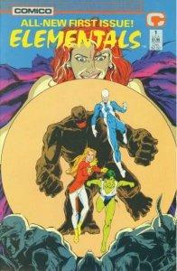 Elementals (1989 series) #1, NM- (Stock photo)
