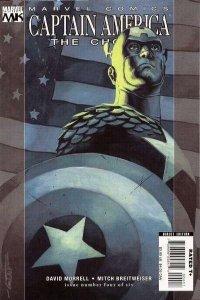 Captain America: The Chosen #4, NM + (Stock photo)