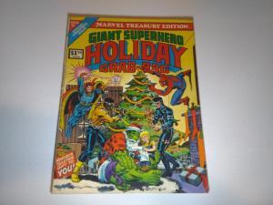 Marvel Treasury Edition Giant Superhero Holiday Grab-Bag Special Christmas Issue