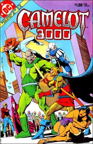 DC CAMELOT 3000 #2 VF/NM