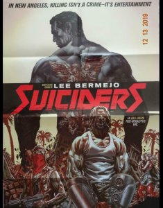 SUICIDERS Promo Poster , 22 x 34, 2015, VERTIGO,  Unused more in our store 045