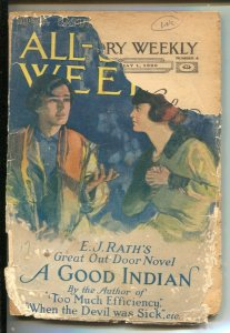 All-Story Weekly-5/1/1920-Munsey-Pulp thrills- over 100 years old-A Good Ind...