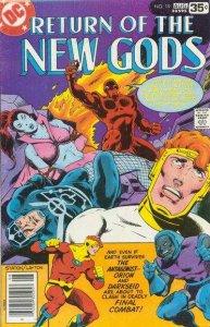 New Gods (1971 series) #19, Fine- (Stock photo)
