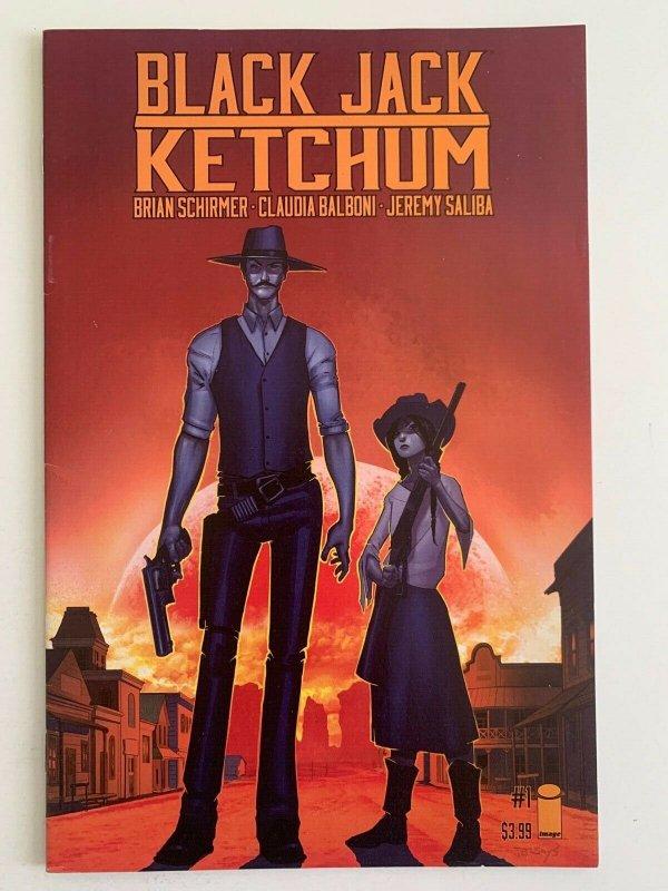 Black Jack Ketchum #1 in Near Mint minus condition. Image comics