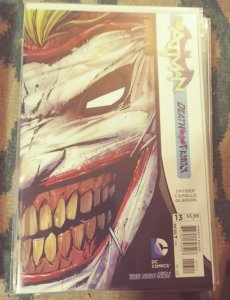batman VOL 2 # 13  2012 dc new 52 SNYDER/ CAPULLO  DEATH OF THE FAMILY JOKER