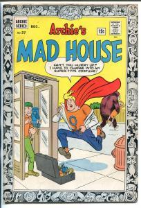 ARCHIE'S MAD HOUSE #37 1964-CAPTAIN SPROCKET-SABRINA-SCI-FI-HORROR-fn