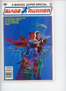 Marvel Super Special 22 Blade Runner VF High Grade 1982  Steranko Cover!