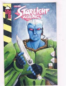The Starlight Agency #3 VF Antarctic Press Comic Book Sept 1991 DE40 AD14