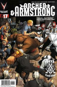 Archer & Armstrong (2012 series) #17, NM + (Stock photo)