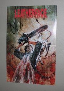 Leatherface Promo Poster /  Original 1990 Promo