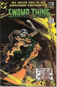 SWAMP THING SAGA #2, VF+, DC Super Series #14, Bernie Wrightson, DC 1978