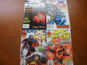 4 Near-Mint Marvel Comic: X-MEN UNLIMITED #9 10 11 12 Heart Darkness Beast Rogue
