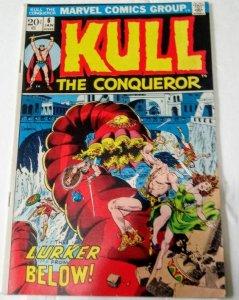 Kull The Conqueror #6 (VF+) 1972 Bronze Age Marvel  ID92H