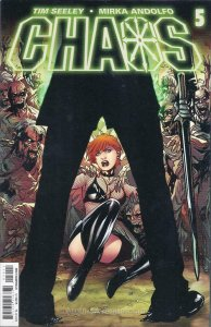 Chaos #5 VF; Dynamite   save on shipping - details inside