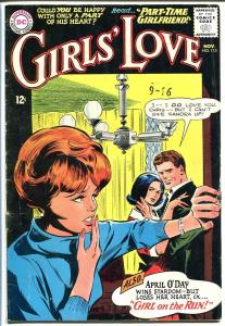 GIRLS' LOVE STORIES #115-DC ROMANCE-GREAT COVER-NICE VG