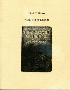 ABDULLAH to GROOM, VF/NM, 1988, Ltd, Softcover, Joseph Bell, A 1000 and 1 Night