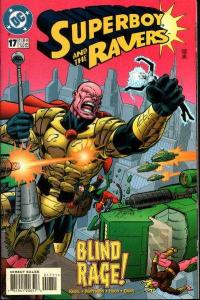 Superboy & the Ravers #17, VF (Stock photo)