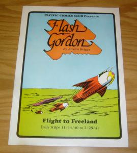 Pacific Comics Club: Flash Gordon #3 VF flight to freeland - daily strips - 1981