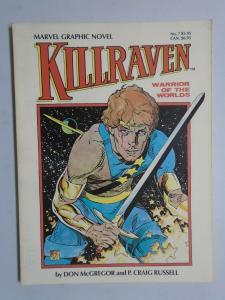 Killraven Warrior of Worlds #1 - GN - 1st First Print - 6.0? - 1983