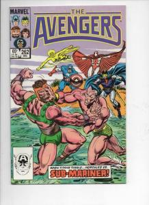AVENGERS #262, VF/NM, Sub-Mariner vs Hercules, 1963 1985, more Marvel in store