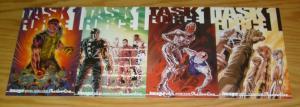 Task Force 1 #1-4 VF/NM complete series - image comics shadowline set lot 2 3