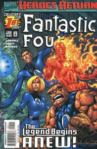 Fantastic Four (1998 series) #1, NM (Stock photo)