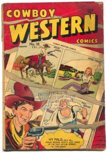Cowboy Western #14 1948- Annie Oakley- Jesse James G