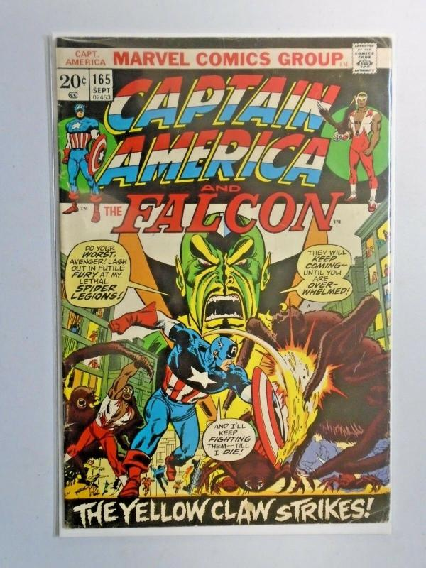 Captain America #165 - First 1st Series - see pics - 4.0 - 1973