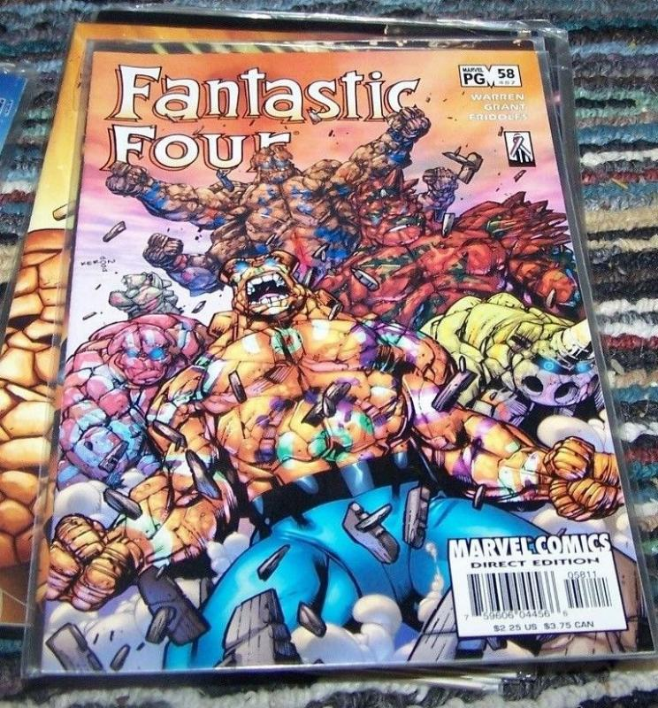 FANTASTIC FOUR #58  (487)   2002   marvel   things BEN GRIMM