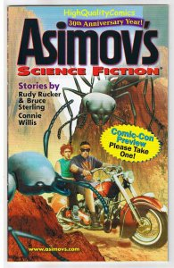 ASIMOV'S SCIENCE FICTION,Preview,Promo,ashcan, 2008, NM