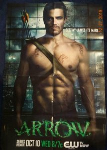 ARROW Promo Poster, 22 x 34, 2012,  Unused more in our store 421