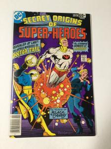 Secret Prigins Of Super Heroes Special 10 Nm Near Mint Dc Comics
