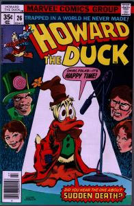 Howard the Duck #26 - 1st Series - 9.0 or Better