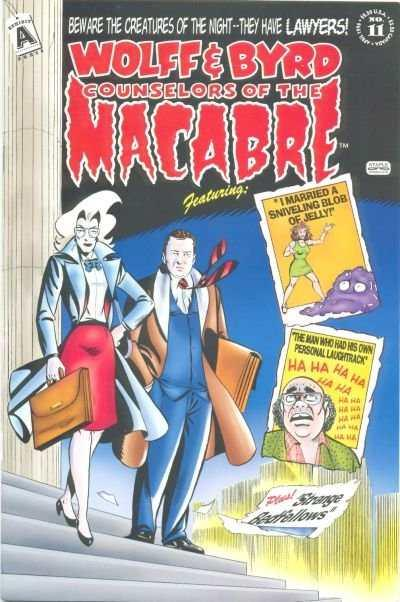 Wolff & Byrd: Counselors of the Macabre #11, NM- (Stock photo)