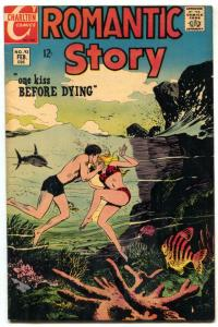 Romantic Story #92 1968- Charlton- Shark cover F/VF