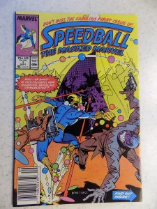 SPEEDBALL # 1 MARVEL NEW WARRIORS ACTION ADVENTURE