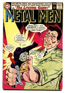 METAL MEN #17 comic book-ROBOT COVER-DC-1965 VG