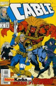 Cable (1993 series) #4, VF+ (Stock photo)