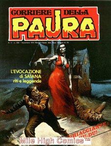 PAURA MAGAZINE ITALIAN (1974 Series) #6 Very Fine