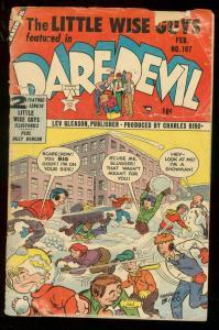 DAREDEVIL #107 1954-LEV GLEASON-CHARLES BIRO WISE GUYS FR